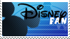 Disney fan stamp