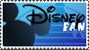 Disney fan stamp