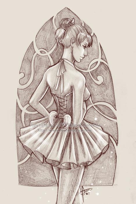 ballerina by Bea-Gonzalez