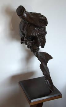 Unconscious selfportait - bronze -