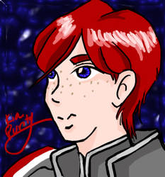 Male version of my Shepard by kiapurity