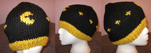 Pac Man hat by kiapurity