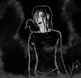Eric Draven, the Crow bonus art #2
