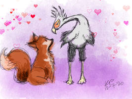 The Fox and the Bird