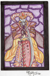Stained glass Sparda