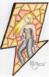 Stained glass Trish