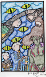 Stained glass Vergil