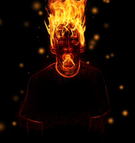 I m on fire
