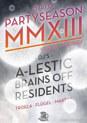 Start of Partyseason MMXIII by kingmoeha
