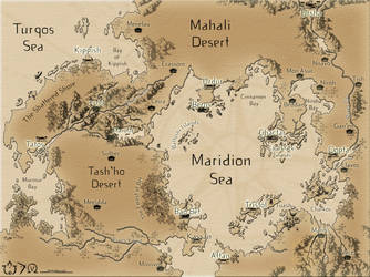 Untitled Map by authorjess