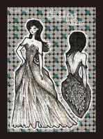 . the wedding dress . by sunfairyx