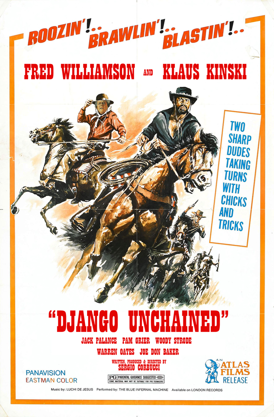 Sergio Corbucci's Django Unchained by AtomTastic
