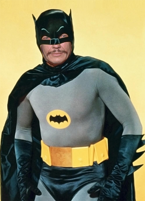 Charles Bronson as Batman (Again) by AtomTastic