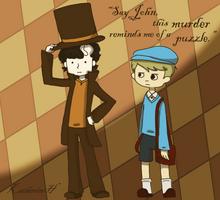 Professor Holmes by Katfuzzmunchkin
