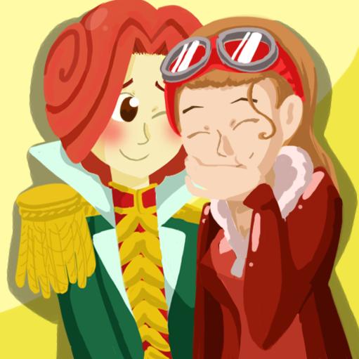 Ron and Dessie by Katfuzzmunchkin