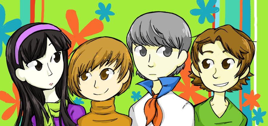 Japanese Scooby Doo by Katfuzzmunchkin