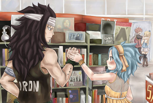 Gajevy week day 7: AU (Music Store)