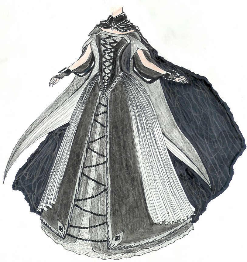 Dress design by forgottenmyname