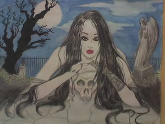 graveyard sonata by MorganaRealm