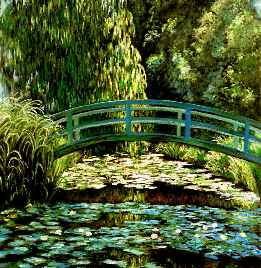 Awesome Monetu0027s Japanese Bridge And Water Lily Garden By I5campos ...