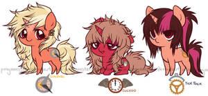 clock ponies