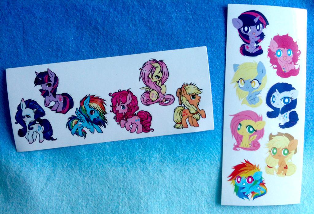 Pony Stickers by ponymonster