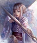 Kimono Elven Archer