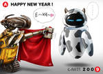 WALL-E New year card