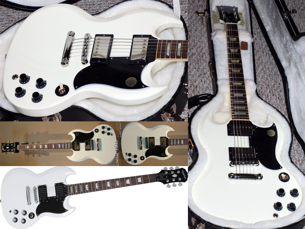 Epiphone Wallpapers: Alpine White Epiphone G-400 By Androidred0100 On DeviantArt