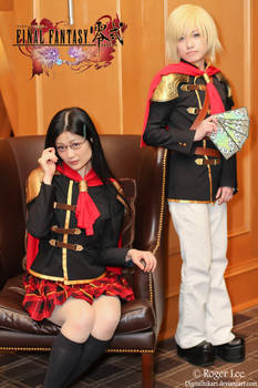 Type-0's Queen and Ace