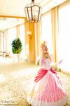 Princess Peach on the run by DigitalHikari