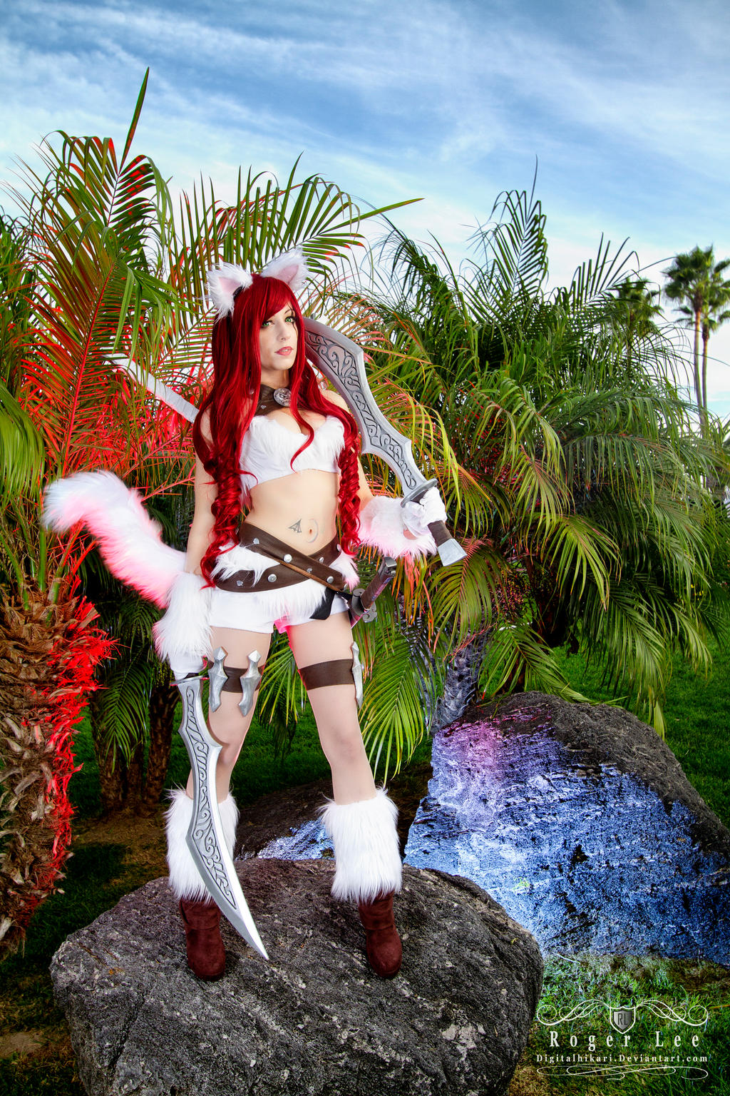 Kitty Cat Katarina - League of Legends by DigitalHikari