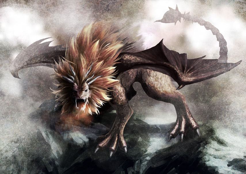Mythical creatures manticore
