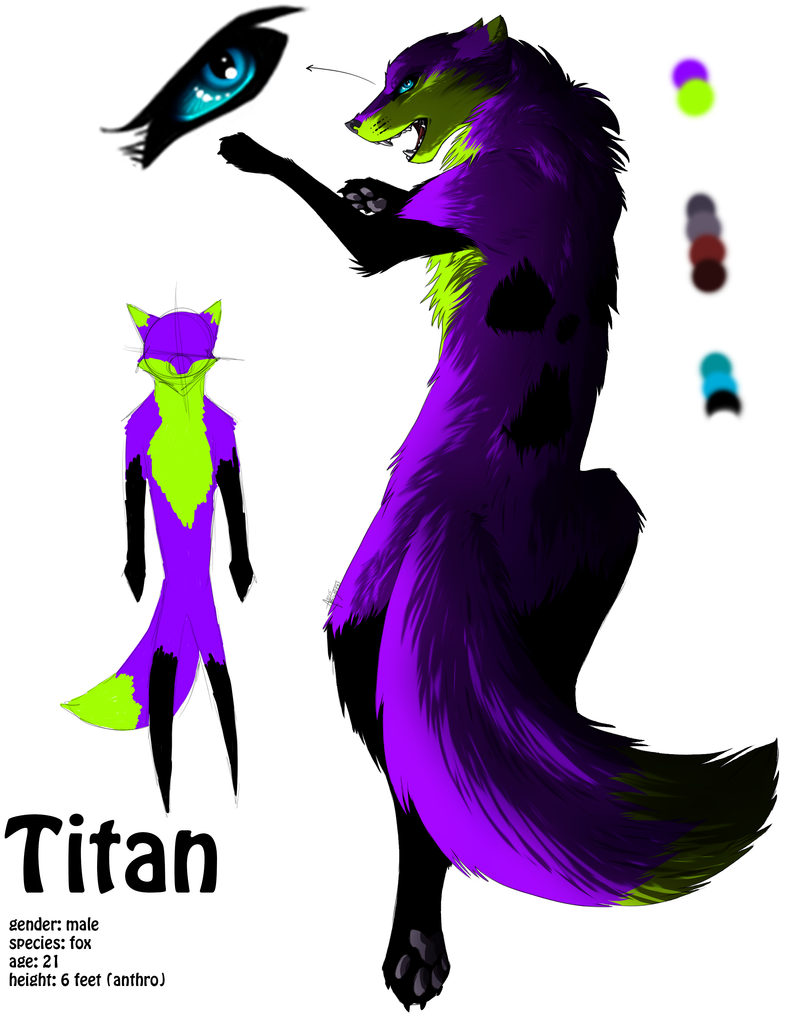 Character reference : Titan by TangledTabby876