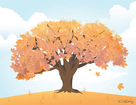This Fall (Vector Illustration)