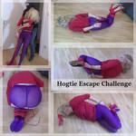 Hogtie Escape Challenge - Cover