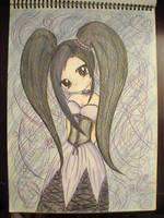 gothic anime by TashaValentine