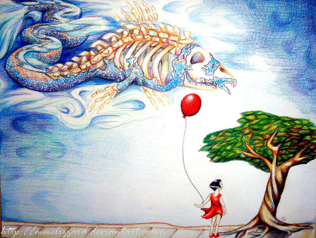 The Red Balloon by MmeLizzard