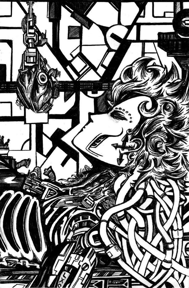 Antipathy for a Cyborg's Heart by rabbitcanon