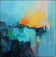 Blue village by Malahicha