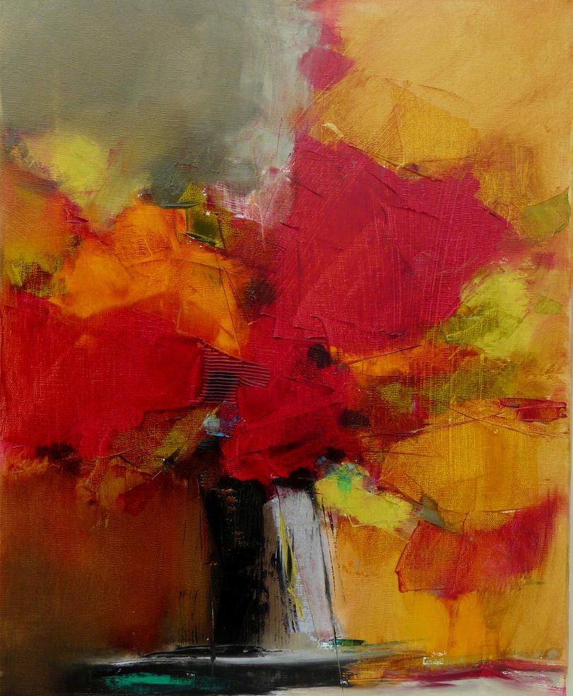 Petit bouquet 5 de septembre 33x41 by Malahicha