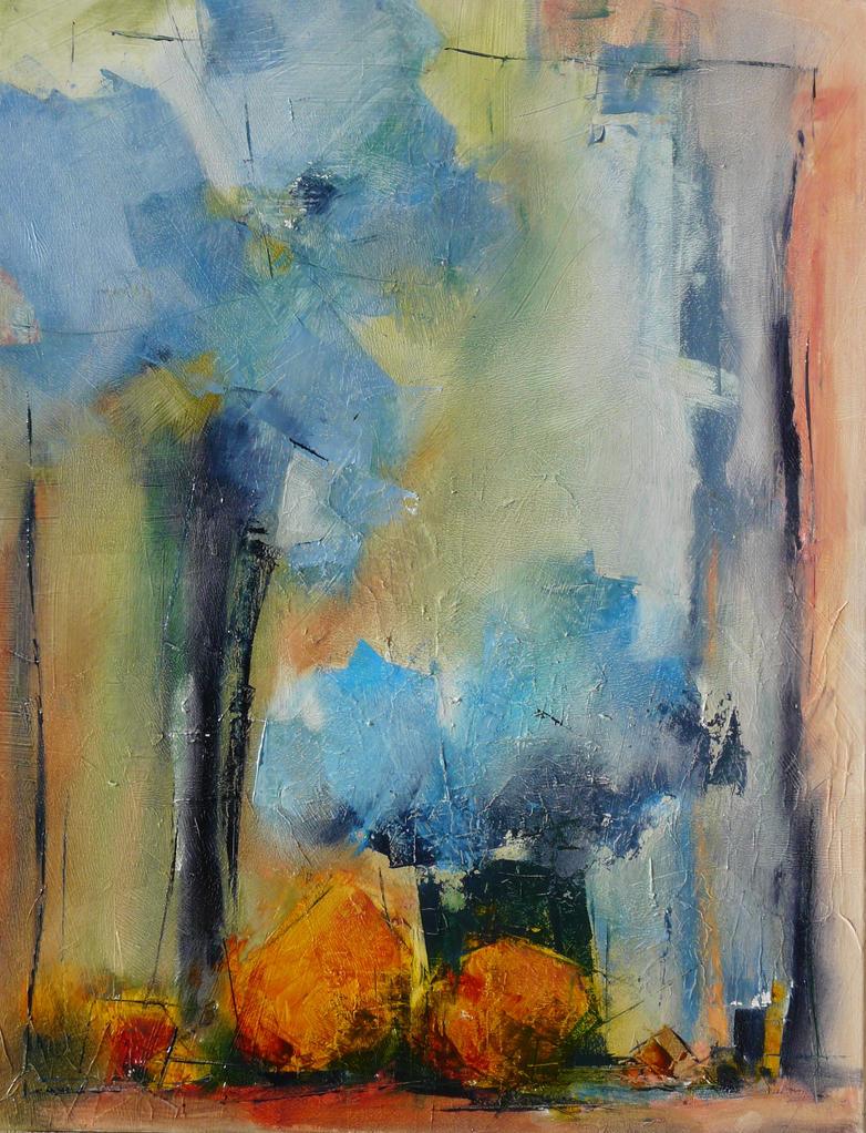 Deux bouquets bleus 1214 by Malahicha