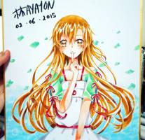 Asuna by hayayon