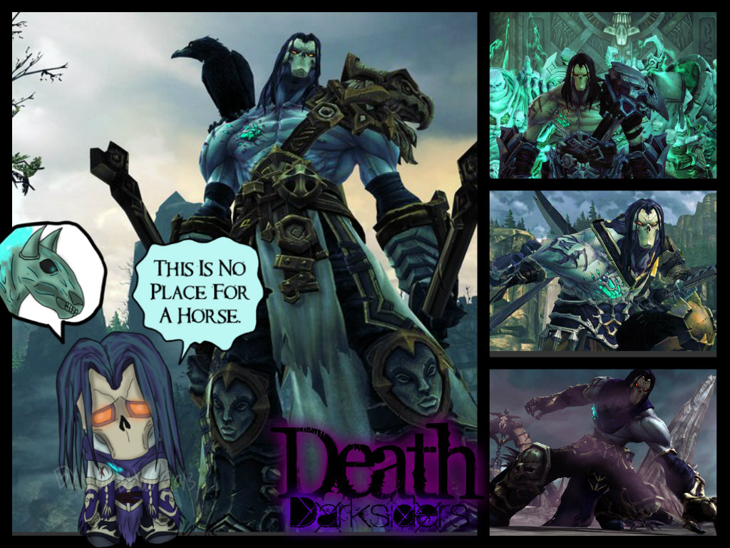 darksiders - death wallpaperstarkileromega on deviantart