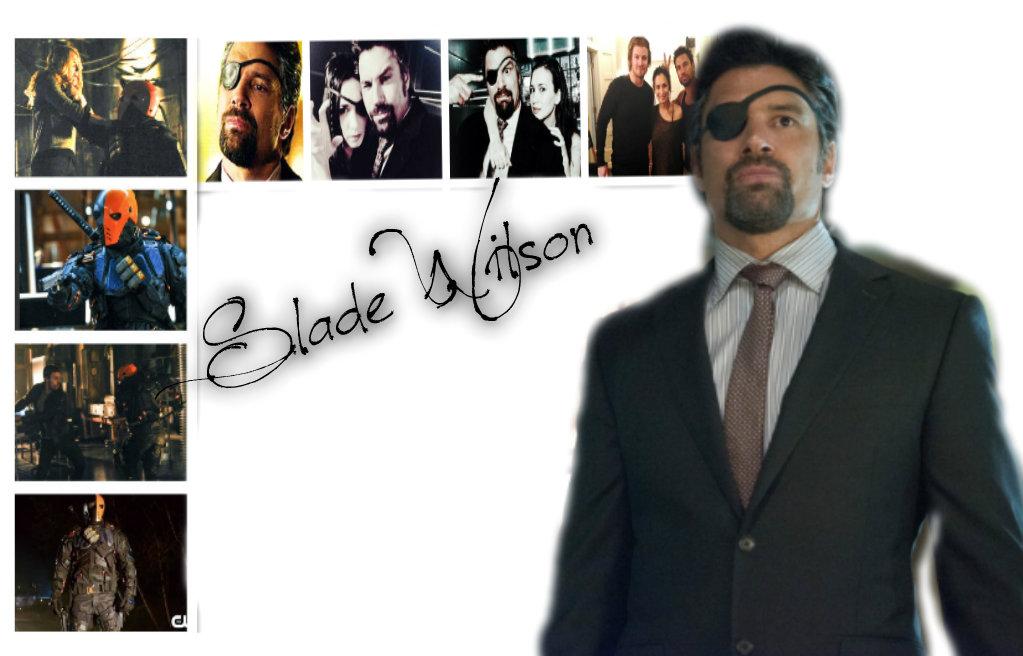 Slade Wilson Deathstroke Smallville Slade Wilson Arrow - W...
