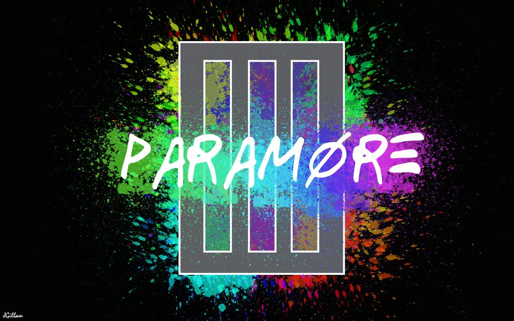Paramore Bars Paint Splatter Wallpaper By JamieGillam