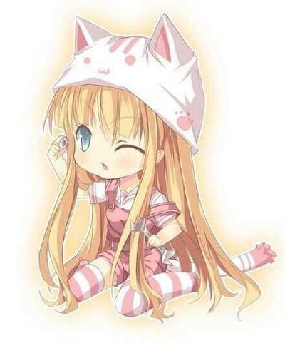 chibi cute anime girl by Skyler1888 on DeviantArt