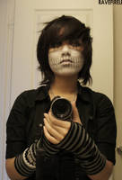 Halloween Face Painting by ravefirell