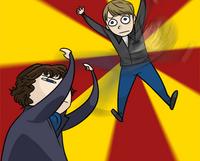 Sherlock: The Watson Flip by ravefirell