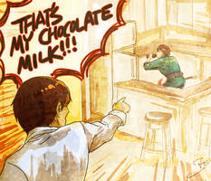 CHOCOLATE MILK OR GTFO by ravefirell